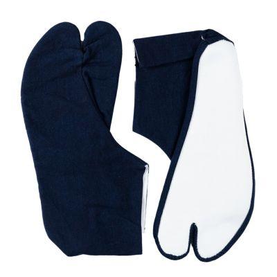のびのびストレッチ藍染大人用岡足袋